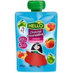 Ovocná kapsička s broskvemi a vitaminem C 100g
