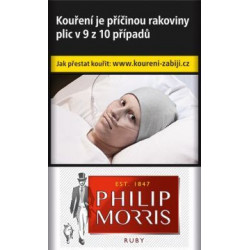 PHILIP MORRIS ruby 20ks