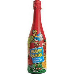 Robby Bubble jahoda 750ml