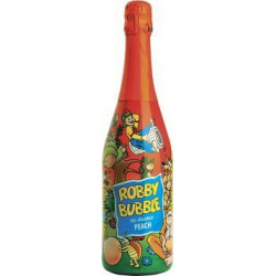 Robby Bubble broskev 750ml