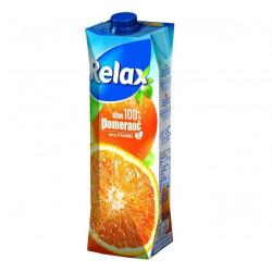 Relax 100% Pomeranč 1l