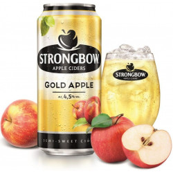 Strongbow Gold Apple plech...