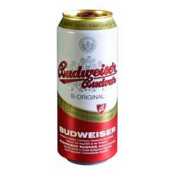 Budweiser Budvar světlý ležák plech 500ml
