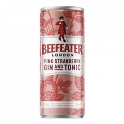 Beefeater Gin & Tonic Pink Jahoda plech 250ml