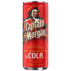 Captain Morgan plech 250ml