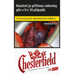 Chesterfield Red 20ks