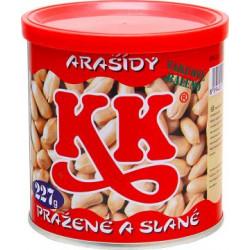 K&K Pražené arašídy solené...