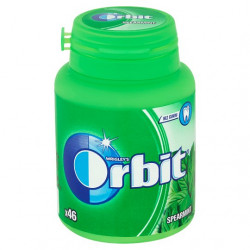 Orbit dražé spearmint 64g