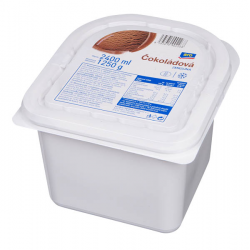 Zmrzlina čokoládová 1250g...
