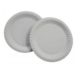 Papírový talíř, průměr 23cm...