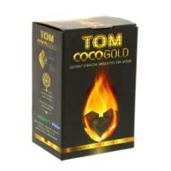 Tom coco gold kokosové uhlí...