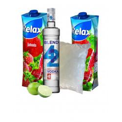 Vodka + Džus Jahoda set