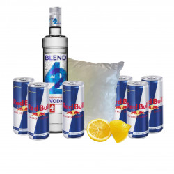 Vodka + Energy set