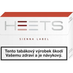 Heets Sienna Label 20ks