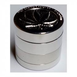 Drtička stříbrná kovová čtařdílná 2,8cm 1ks