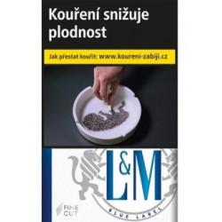 L&M blue label 20 ks